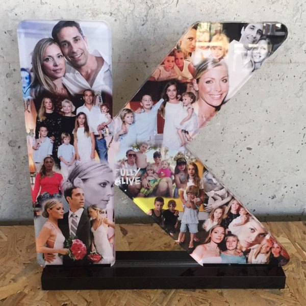 9 inch collage letter